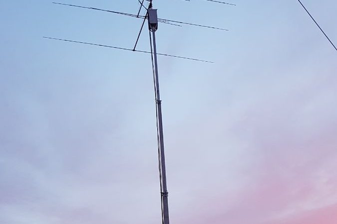 GLV-01 - 7m Light duty Galvanized Telescopic mast - SILCOM
