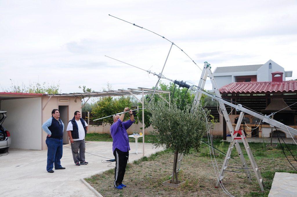 Tilt base for Telescopic mast - SILCOM Telescopic Masts